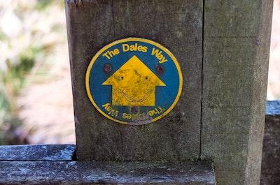 A Dales Way sign