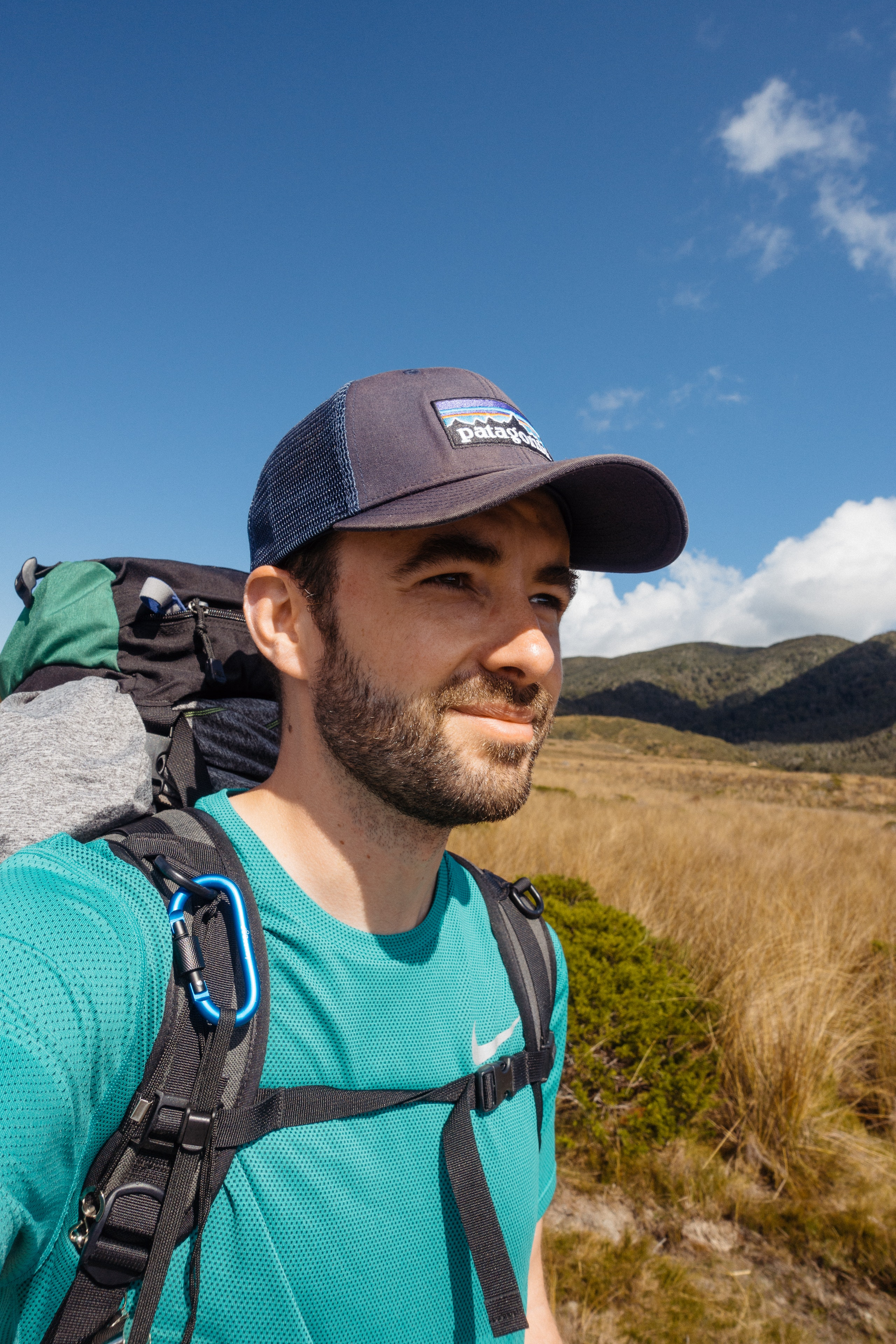 Selfie on the Gouland Downs