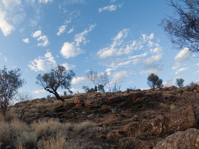 Clouds over Anzac Hill