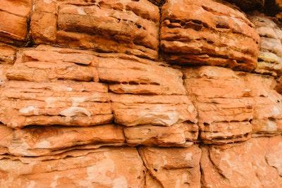 Rock formations at Kings Canyon