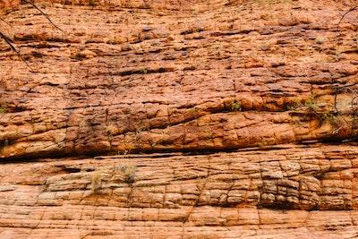 Weathered rocks at Kings Canyon