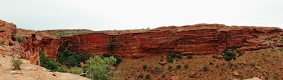 View over Kings canyon