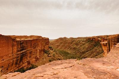 View down Kings Canyon