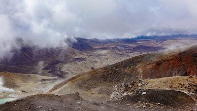 A volcanic panorama
