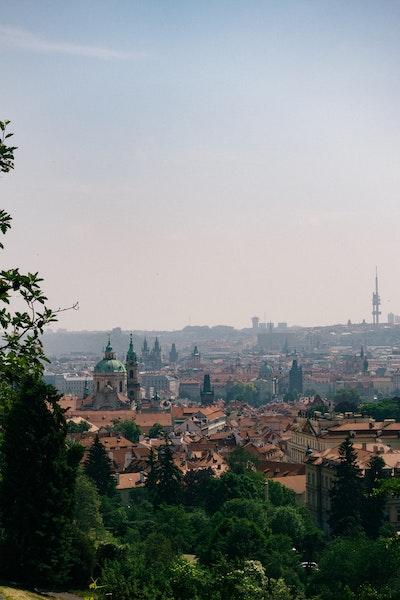 A view over Prague