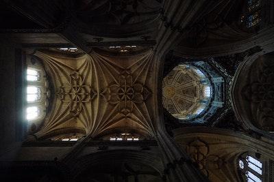 Salamanca Cathedral Ceiling