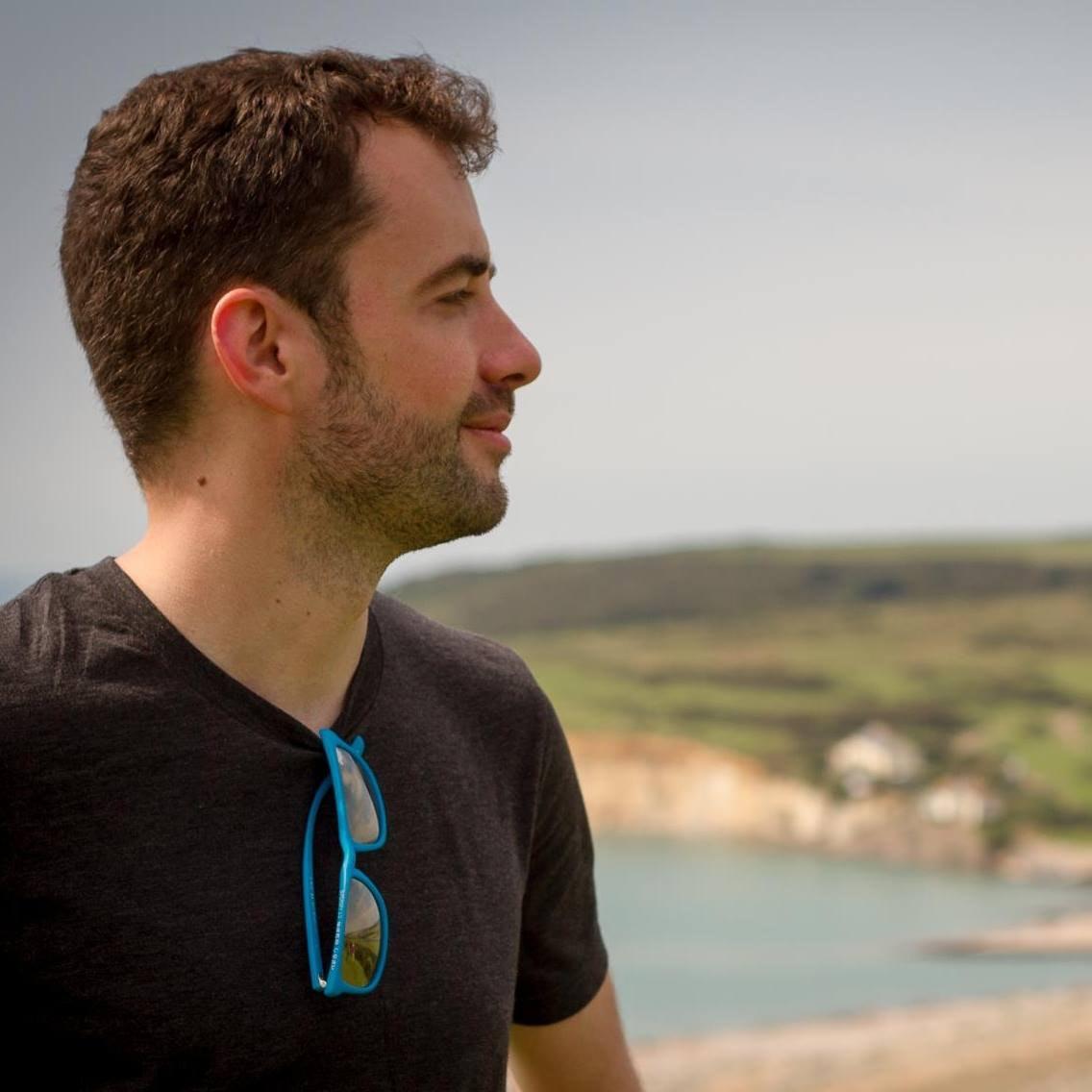 A profile photograph of Jamie McHale
